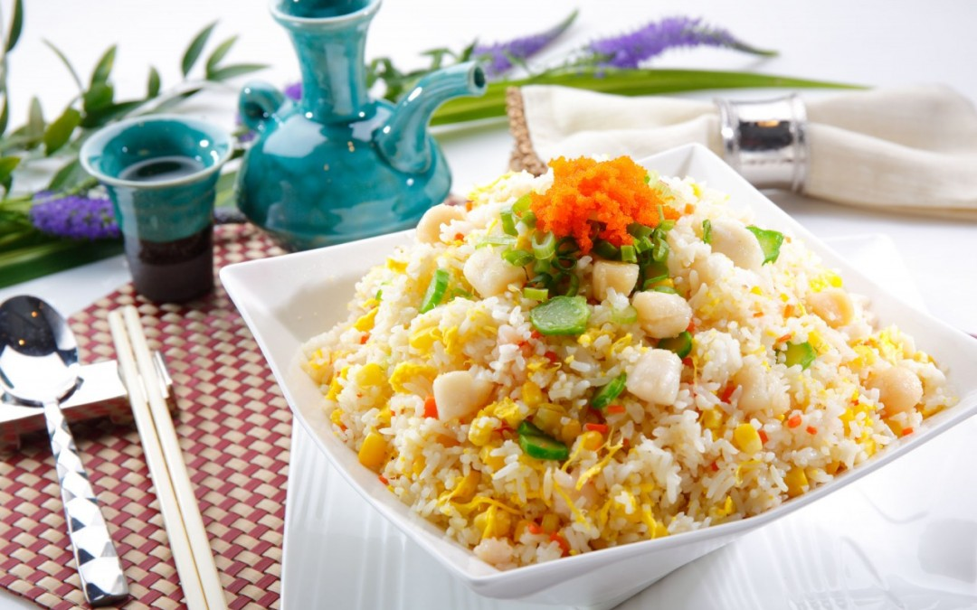 金粟海鮮炒飯  Seafood and Golden Corn Fried Rice