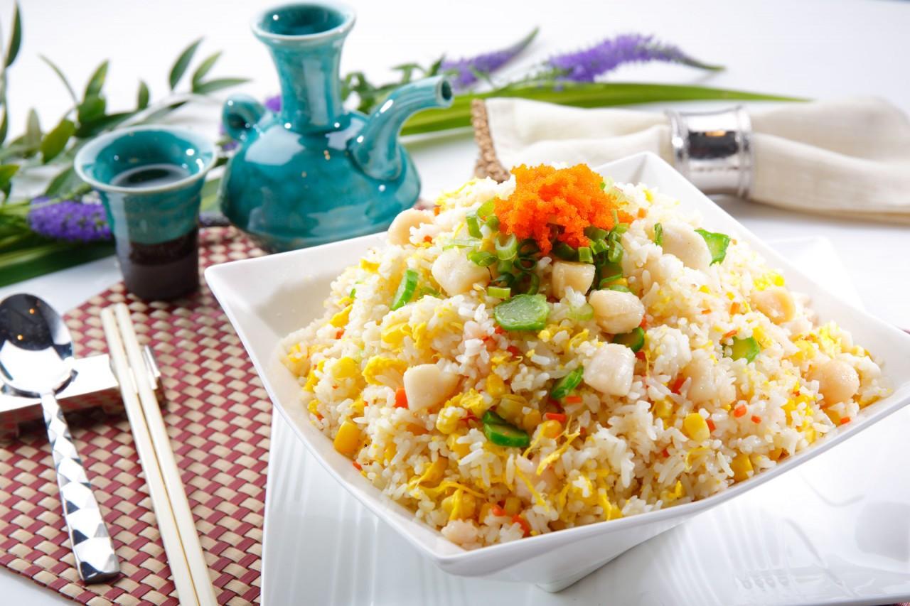 金粟海鮮炒飯  Seafood and Golden Corn Fried Rice