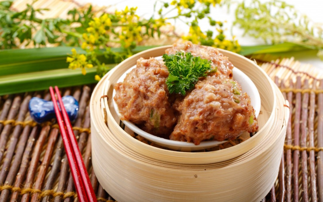 鮮竹牛肉球  Steamed Beef Meatballs with Bean Sheets