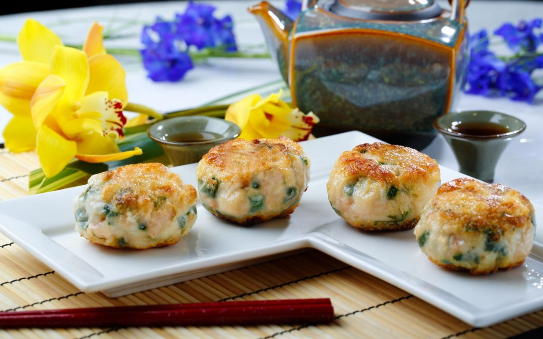 香煎韮菜棵  Pan Fried Chive Dumplings