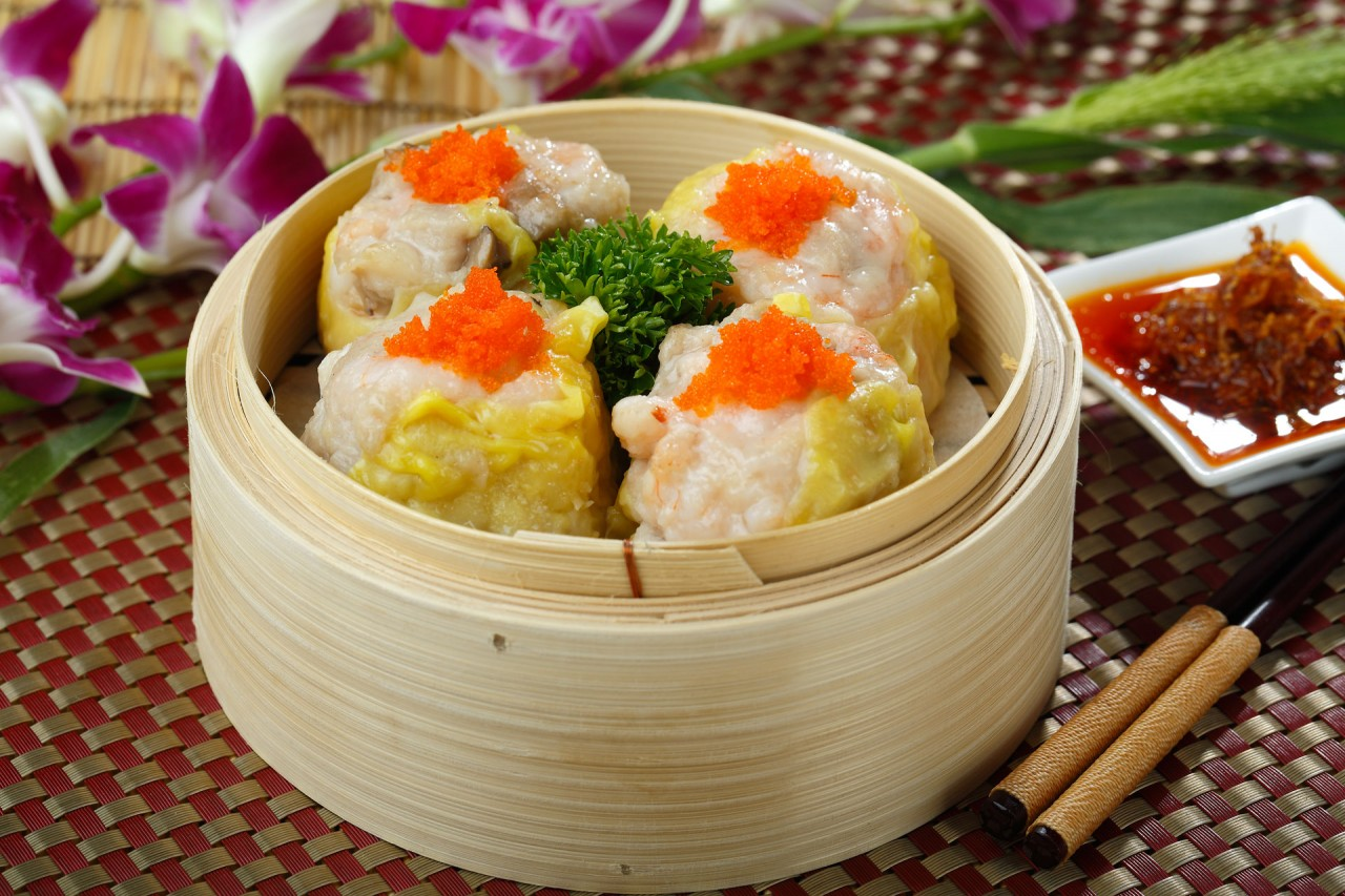 魚子北菇燒賣  Steamed Shiu-Mai Dumplings